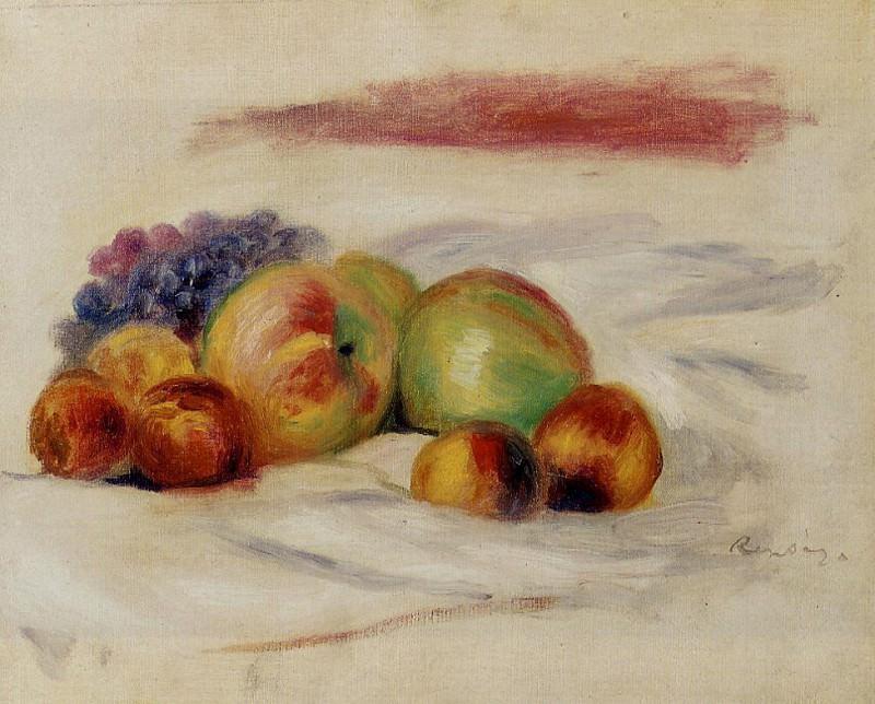 Apples and Grapes - 1910. Pierre-Auguste Renoir