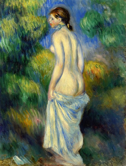 Standing Nude - 1889. Pierre-Auguste Renoir