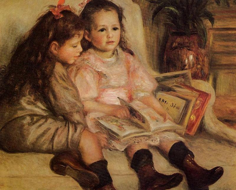 The Children of Martial Caillebotte - 1895. Pierre-Auguste Renoir