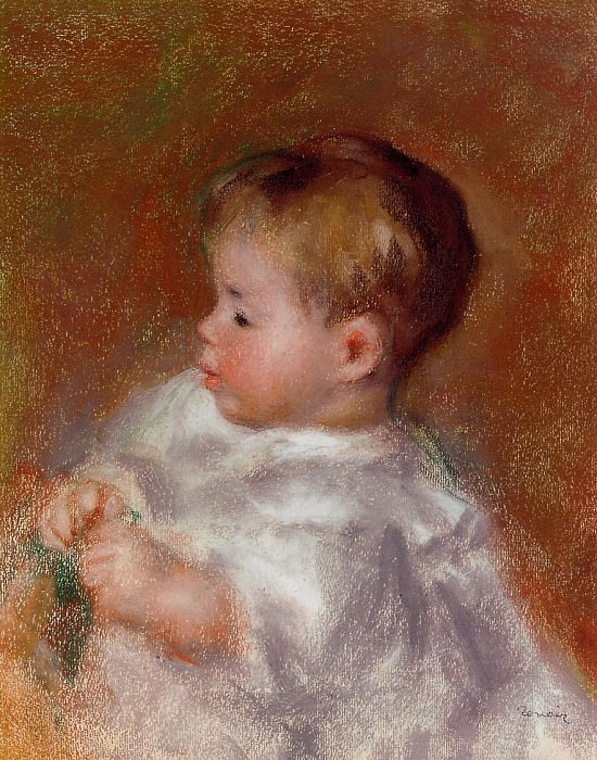 Marie-Louise Durand-Ruel. Pierre-Auguste Renoir