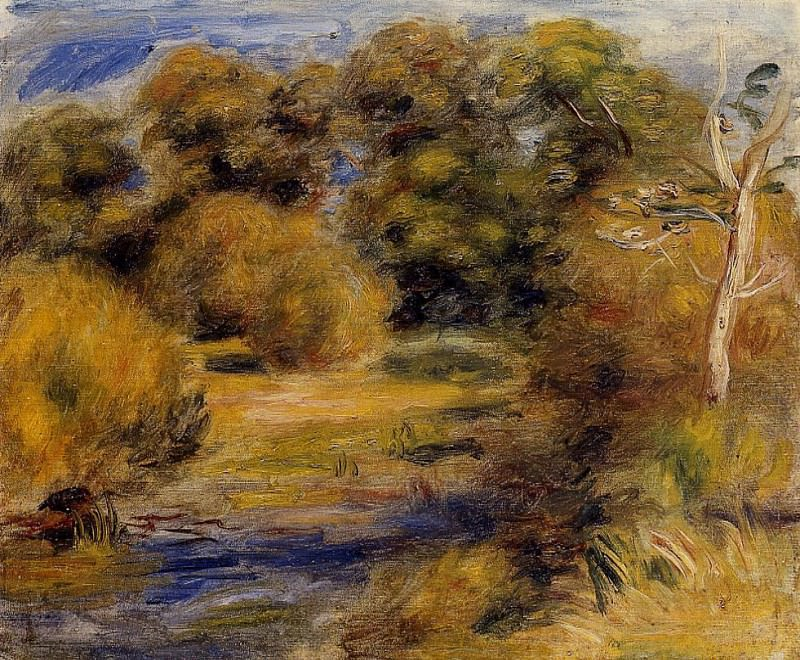 The Clearing. Pierre-Auguste Renoir