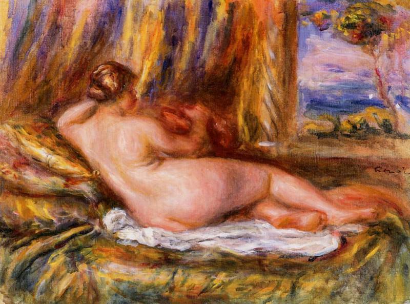 Reclining Nude. Pierre-Auguste Renoir