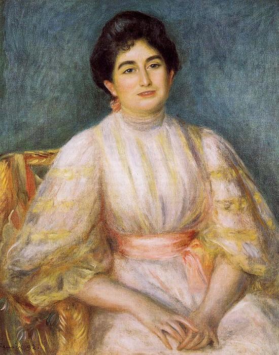 Madame Paul Gallimard nee. Lucie Duche - 1892. Пьер Огюст Ренуар