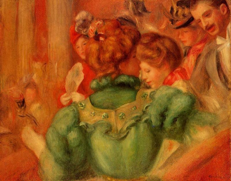 The Loge - 1897. Pierre-Auguste Renoir