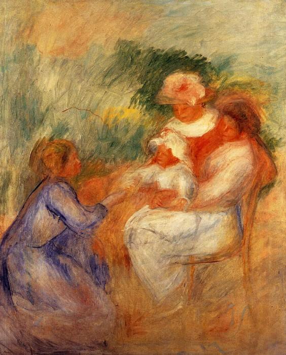 La Famille - 1896. Pierre-Auguste Renoir