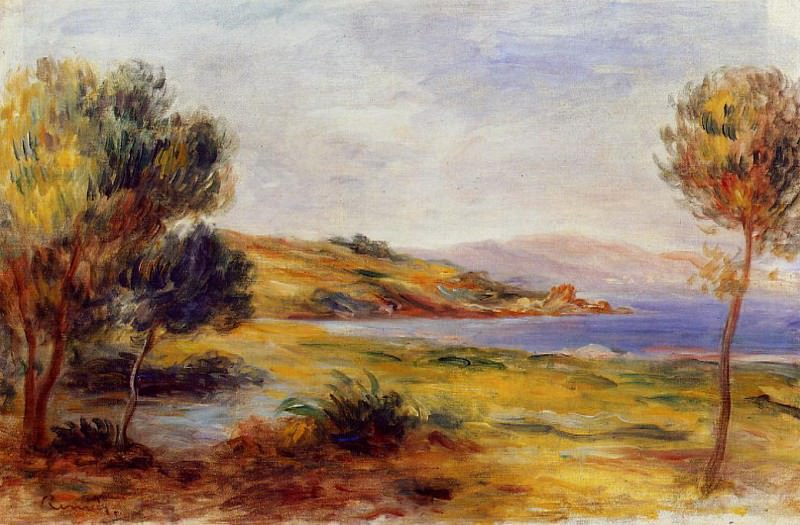 The Bay. Pierre-Auguste Renoir