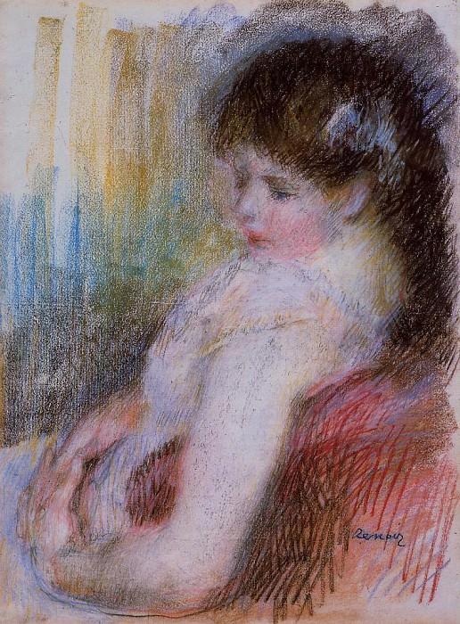 Seated Woman - 1879. Pierre-Auguste Renoir