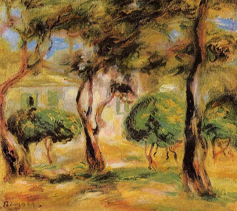 Le Jardin des Collettes - 1909. Pierre-Auguste Renoir
