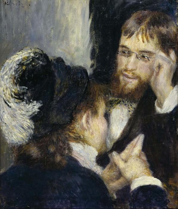 Conversation. Pierre-Auguste Renoir