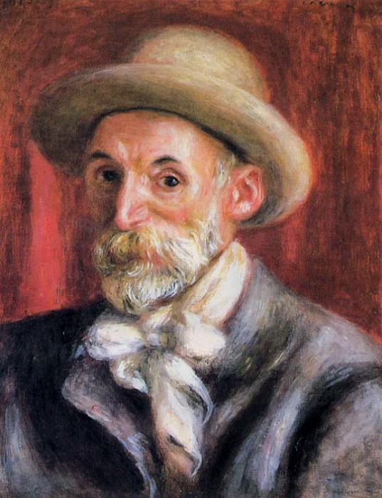 Self Portrait - 1910. Pierre-Auguste Renoir