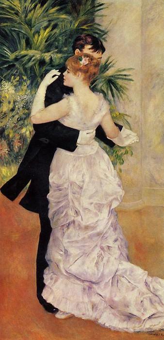 City Dance. Pierre-Auguste Renoir