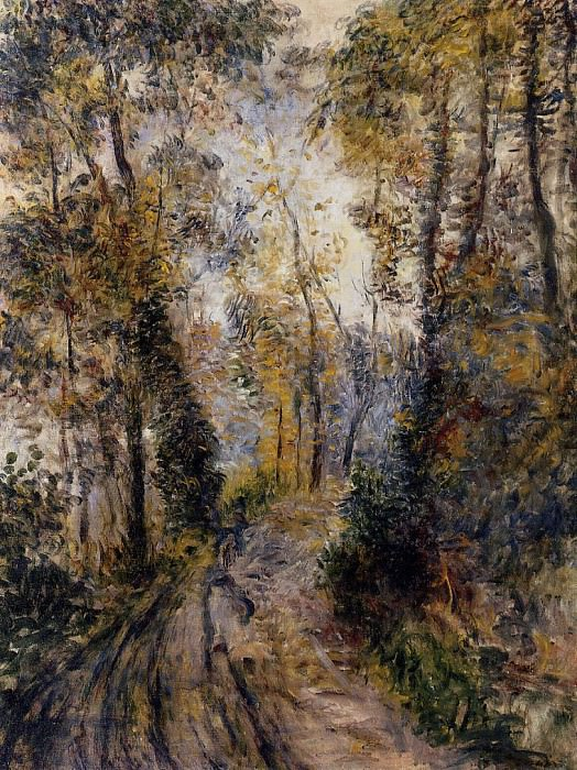 The Path through the Forest - 1871. Pierre-Auguste Renoir