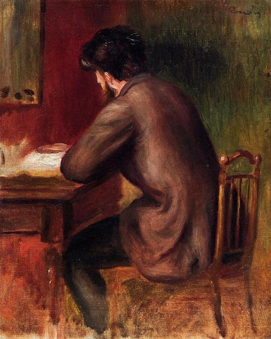 Посмертный портрет Фредерика Базиля, 1885. Пьер Огюст Ренуар