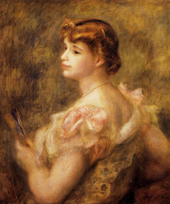 Madame Charles Fray - 1901. Пьер Огюст Ренуар