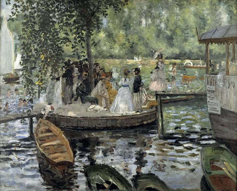 La Grenouillère. Pierre-Auguste Renoir