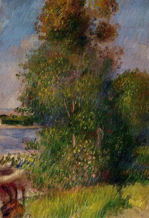 Landscape9 - дата не известна. Pierre-Auguste Renoir