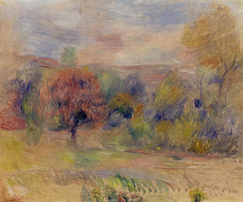 Landscape3 - дата не известна. Пьер Огюст Ренуар