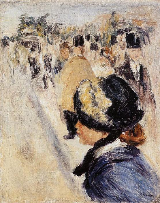 Le Place Clichy - 1880. Pierre-Auguste Renoir