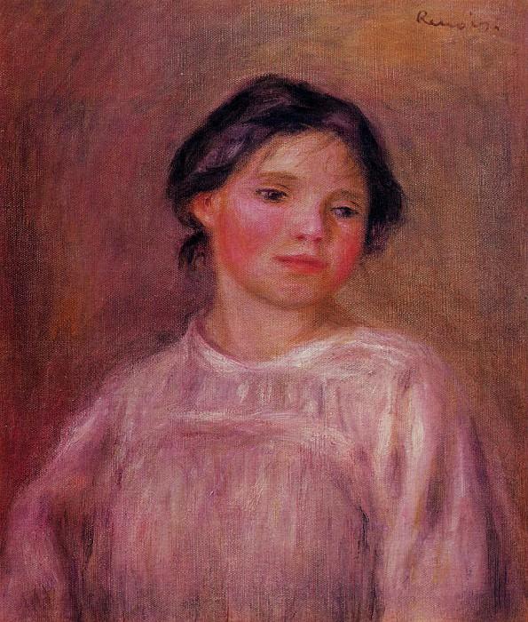 Helene Bellow - 1908. Pierre-Auguste Renoir