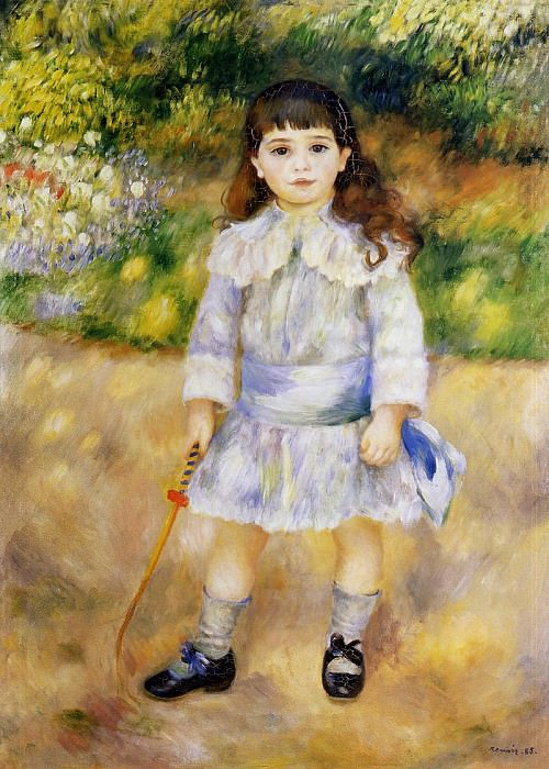 Child with a Whip - 1885. Pierre-Auguste Renoir