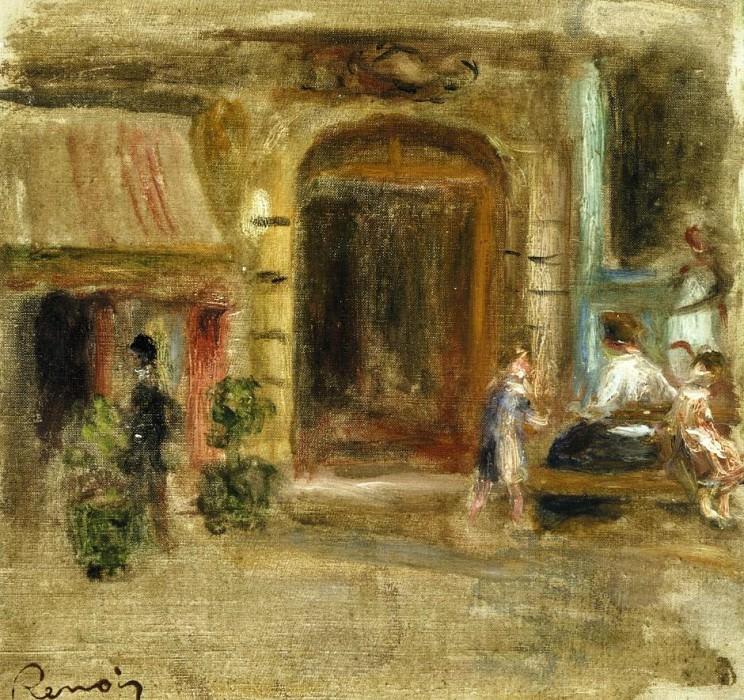 Rue Caulaincourt - 1905. Pierre-Auguste Renoir