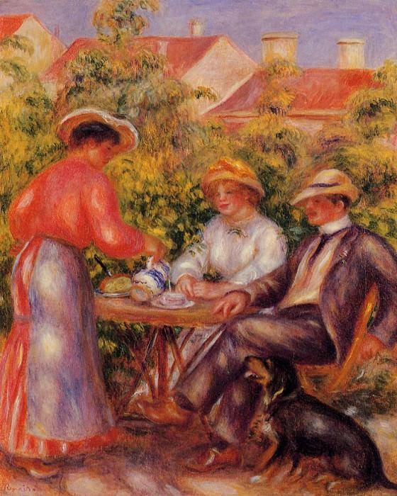 The Cup of Tea - 1906 - 1907. Pierre-Auguste Renoir