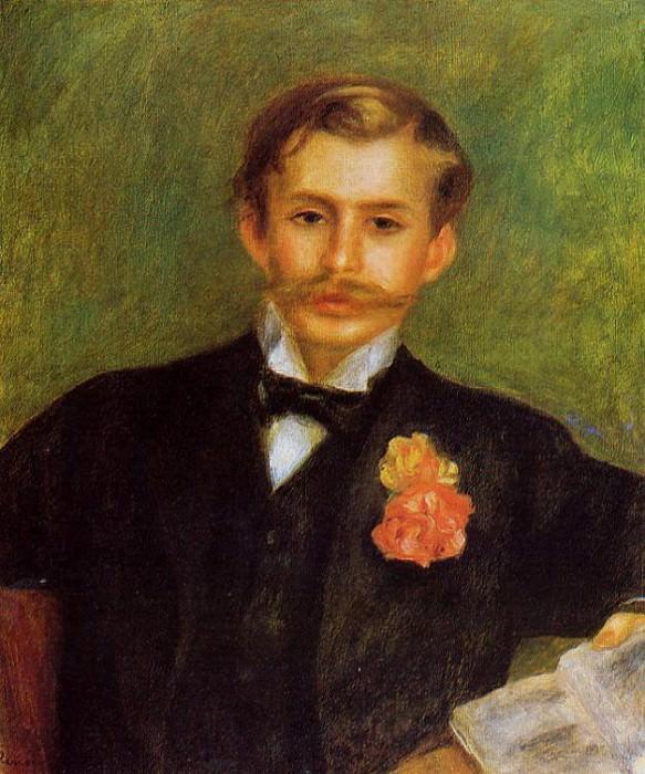 Monsieur Germain - 1900. Пьер Огюст Ренуар