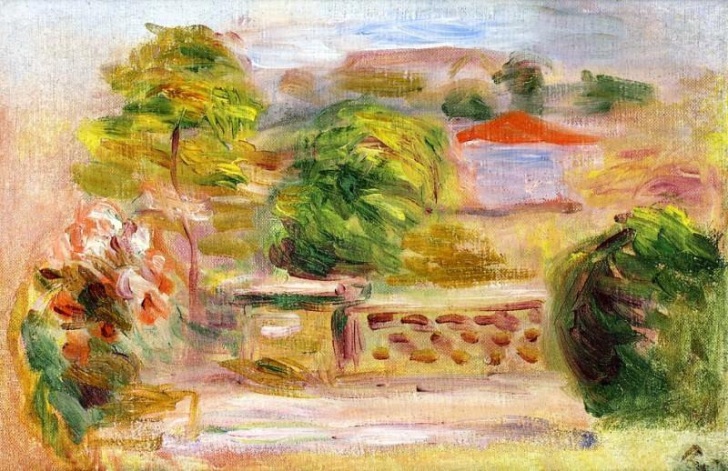 Landscape8 - дата не известна. Pierre-Auguste Renoir