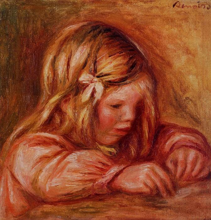 Jean Renoir Writing - 1899. Pierre-Auguste Renoir