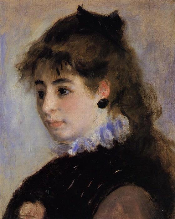 Madame Henriot - 1874. Пьер Огюст Ренуар