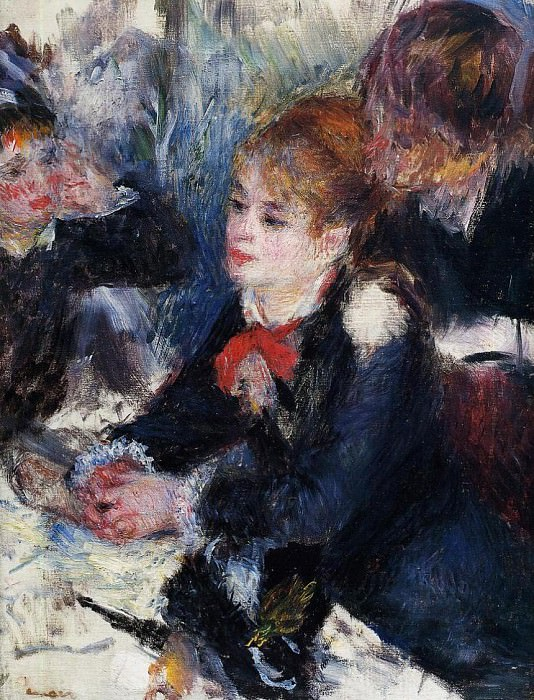 At the Milliners - 1878. Pierre-Auguste Renoir