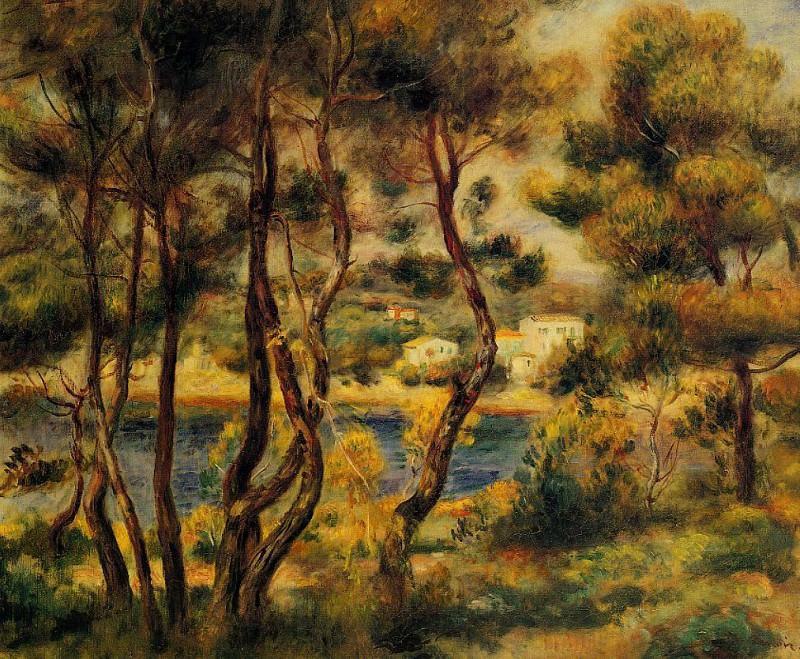 Cape Saint-Jean - около 1908 - 1910. Pierre-Auguste Renoir