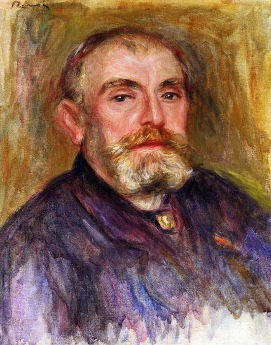 Portrait of Henri Lerolle - 1895. Pierre-Auguste Renoir
