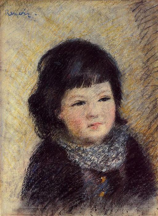 Portrait of a Child - 1879. Pierre-Auguste Renoir