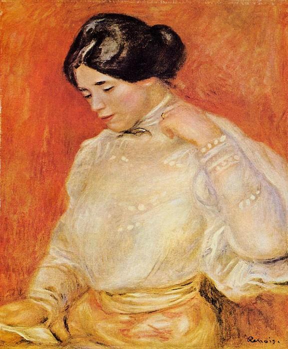 Graziella - 1910. Pierre-Auguste Renoir