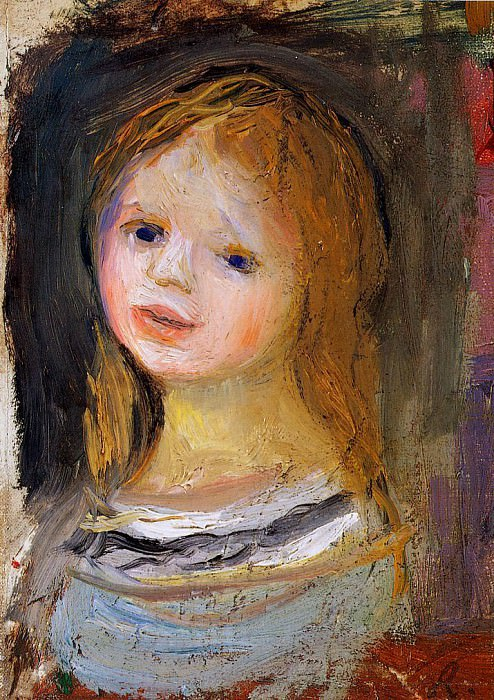 Portrait of a Woman. Pierre-Auguste Renoir