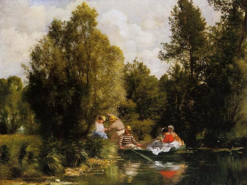 La Mare aux Fees - 1866. Pierre-Auguste Renoir