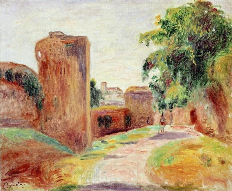 Walls in Spain - 1892. Pierre-Auguste Renoir