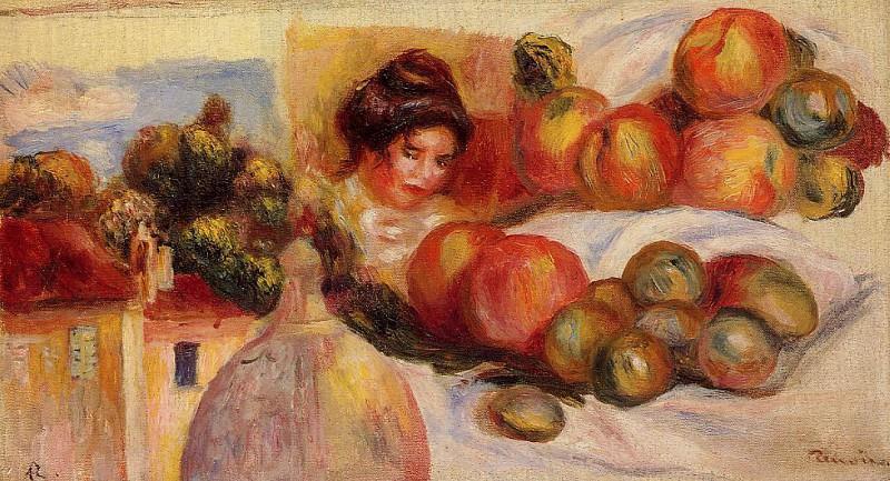 Still Life with Fruit. Pierre-Auguste Renoir