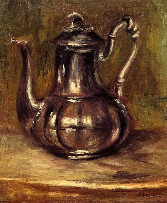Coffee Pot. Pierre-Auguste Renoir