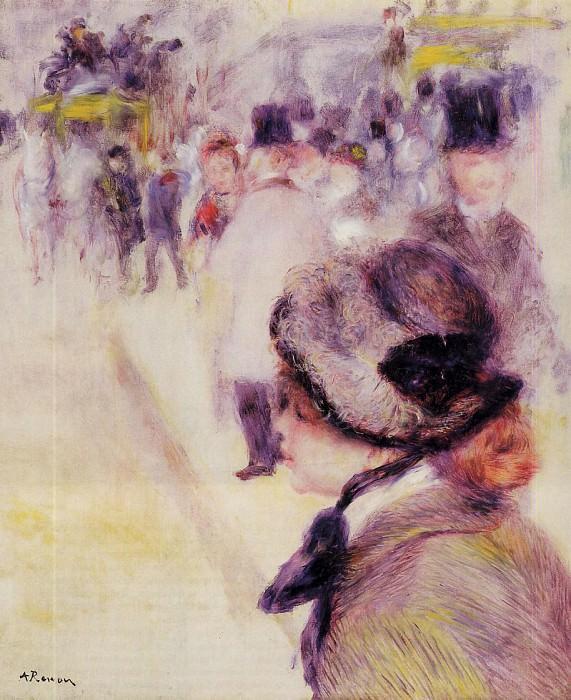 Place Clichy - 1880. Pierre-Auguste Renoir