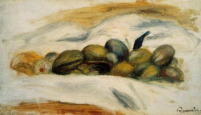 Still Life - Almonds and Walnuts - 1905. Pierre-Auguste Renoir