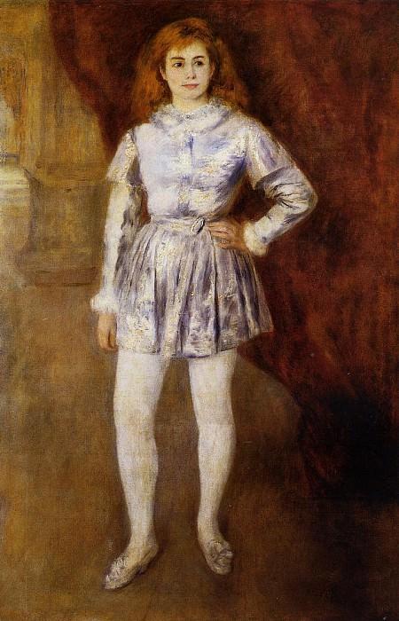 Madame Heriot en travesti - 1875 -1876. Пьер Огюст Ренуар