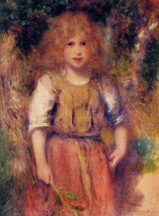 Gypsy Girl - 1879. Пьер Огюст Ренуар