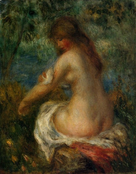Bather - 1905. Pierre-Auguste Renoir