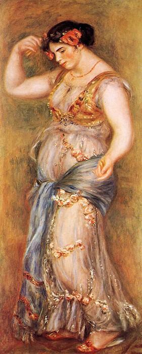 Dancer with Castanettes - 1909. Pierre-Auguste Renoir