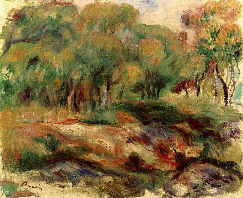 Landscape - 1919. Pierre-Auguste Renoir