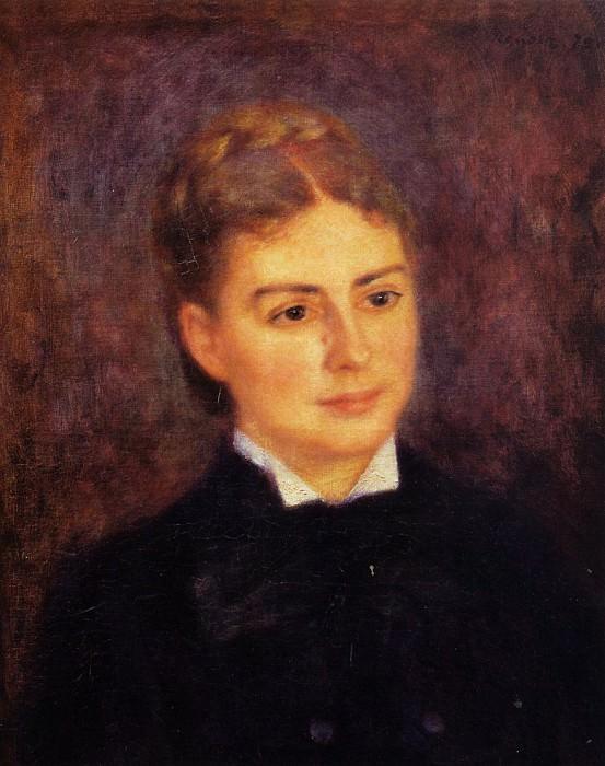 Madame Paul Berard - 1879. Pierre-Auguste Renoir