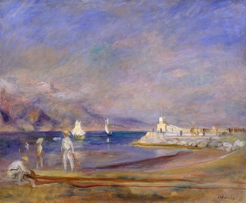 St Tropez, France. Pierre-Auguste Renoir