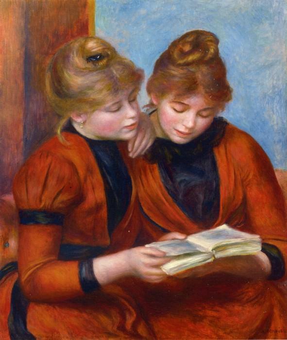 Two Sisters - 1889. Pierre-Auguste Renoir